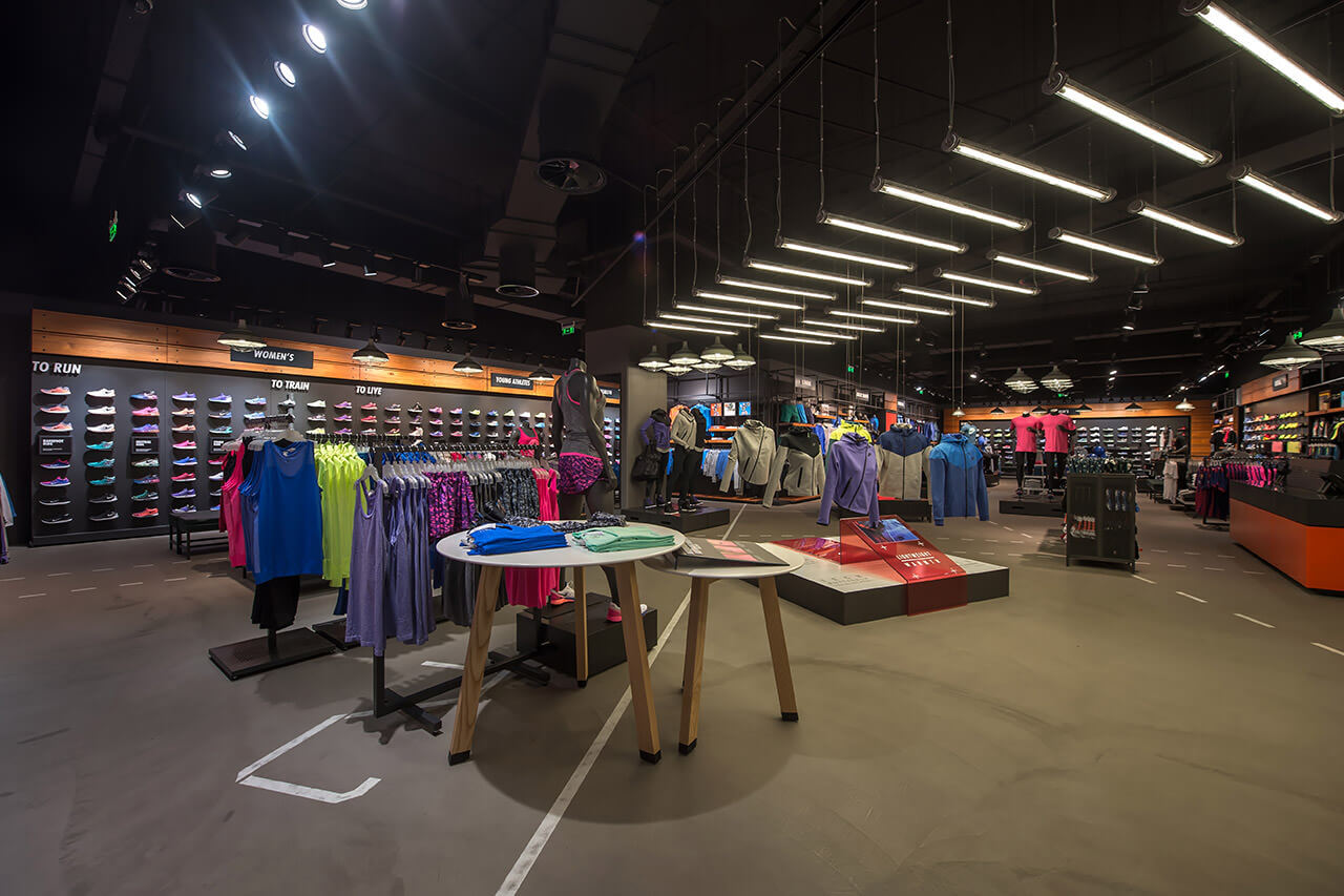 L4A › Nike store at the Mall Athens 63a4a857d876